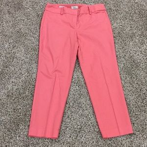 Coral ankle pants